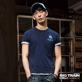 BIG TRAIN 武運單件包T-男-深藍