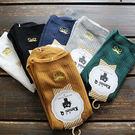☆莎lala【K7052016】 日系棉襪-(現)刺繡中筒襪棉襪 (SIZE: F)