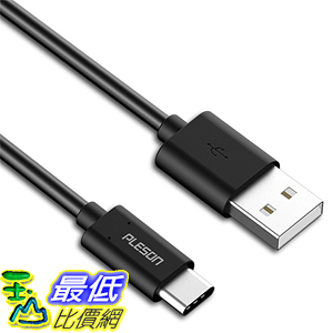 [105美國直購] PLESON Type C 3.1 to Type C 3.1 Data Charging Cable(3.3ft)