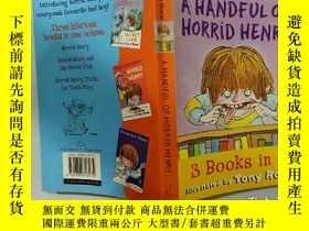 二手書博民逛書店A罕見HANDFUL OF HORRID HENRY:一把可怕的亨利Y200392