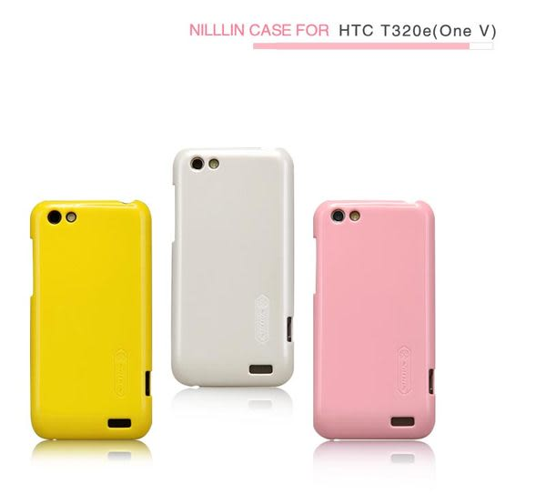 快速出貨 HTC One V T320e NILLKIN 超級亮面護盾 硬式保護殼