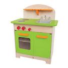 【德國Hape愛傑卡】大型廚具台(綠)