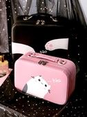 化妝收納包 化妝包小號便攜可愛女大容量品網紅風超火收納盒箱手提隨身袋 果果生活館