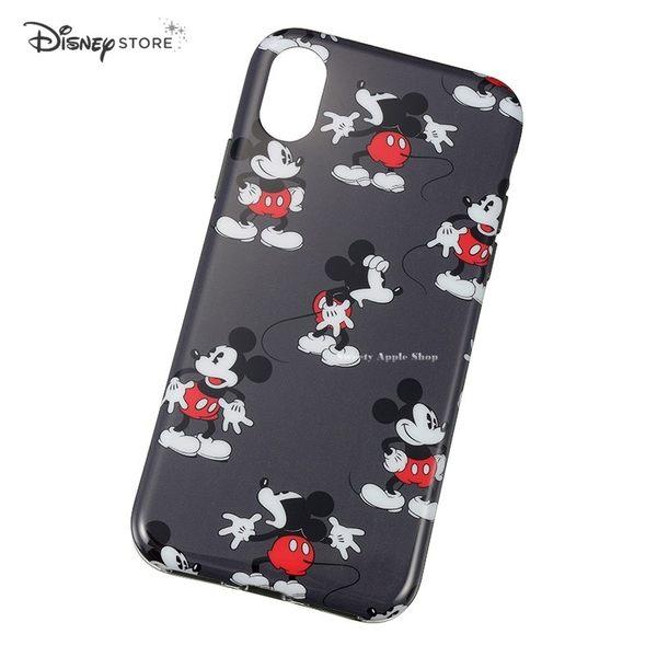 日本限定 DISNEY STORE 迪士尼 米奇 多WAY表情版 iPhone X 手機保護殼套