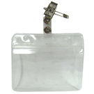 LM 亮美 鐵製別針鈕扣夾+防水證件套/派司套/識別套 整組