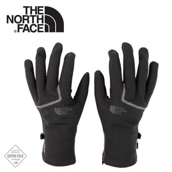 【The North Face 男 GORE-TEX Infinium防風防潑保暖手套《黑》】3KP9/可觸屏手套/機車手套