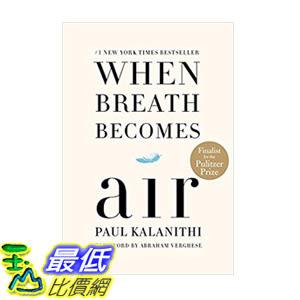 [106美國直購] 2017美國暢銷書 When Breath Becomes Air