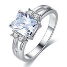 女性鑽石戒指 穿搭 婚禮配飾 水晶戒指