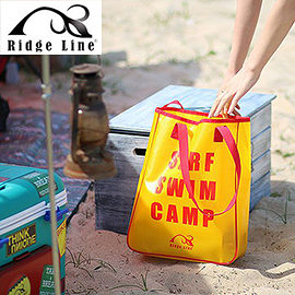 丹大戶外【Ridge Line】韓國 繽紛夏日防水手提袋 黃色 戶外活動/夏日必備/防水功能