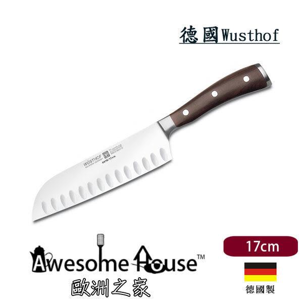 德國 WUSTHOF 三叉牌 17cm 三德刀 Santoku ikon #4976
