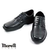 【marelli】Casual核心氣墊紳士鞋-黑色(20158-BL)