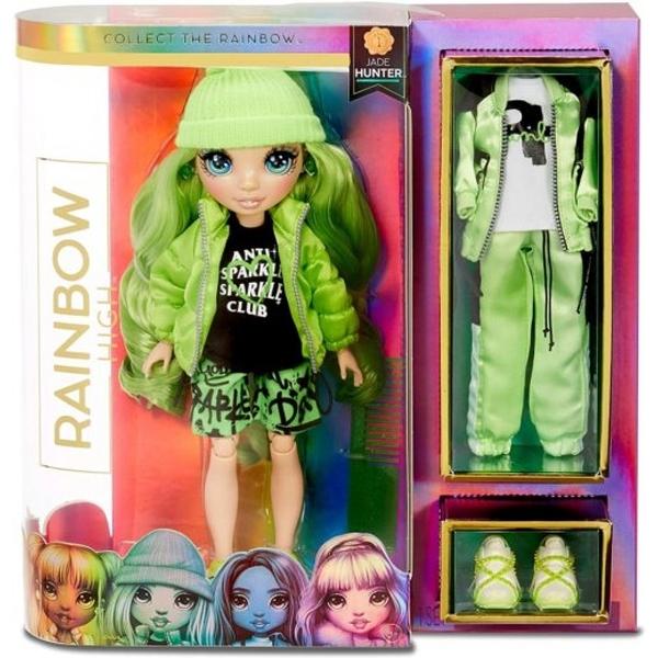 《 Rainbow Surprise 》七彩時尚娃娃 - Jade Hunter / JOYBUS玩具百貨