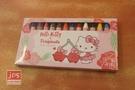 Hello Kitty&Toripicals 凱蒂貓 熱帶水果鳥 12色蠟筆 KRT-214887