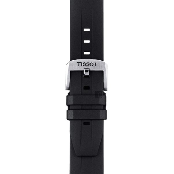 TISSOT 天梭 Seastar1000海洋之星300m潛水計時錶-藍黑/45mm(T1204171704100)