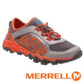 【美國 MERRELL】HYDRO RUN 2.0兒童水陸兩棲鞋『灰/橘』56505 健行鞋.兒童鞋.機能鞋.休閒鞋.登山