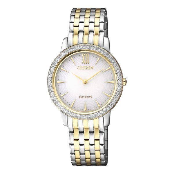 限量款【分期0利率】星辰錶 CITIZEN 光動能 藍寶石水晶鏡面 女錶 29mm 原廠公司貨 EX1484-81A