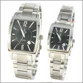 【萬年鐘錶】SIGMA日系 黑經典時尚對錶 8801M-8801L-1