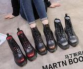 馬丁靴新款夏季學生英倫風百搭短靴ulzzang韓版高幫靴子女夏馬丁靴 99免運