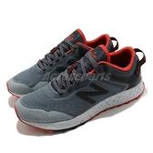 New Balance 野跑鞋 Arishi Trail Wide 寬楦 男鞋 灰 紅 慢跑鞋 越野 運動鞋 【ACS】 MTARISCG2E