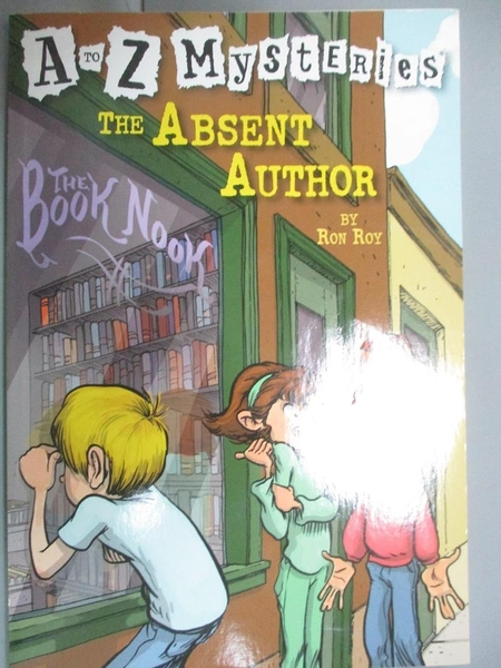 【書寶二手書T1/原文小說_KIB】The Absent Author_Roy, Ron/ Gurney, John (ILT)