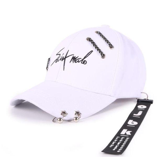 棒球帽子男士青年個性黑色鴨舌帽防曬街頭嘻哈帽 優樂居