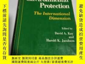 二手書博民逛書店The罕見International Dimension:國際維