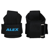 ALEX 護腕助力帶(一雙 台灣製 重量訓練 健身 硬舉 舉重 蹲舉 抓舉 健力≡體院≡ A-3401_1