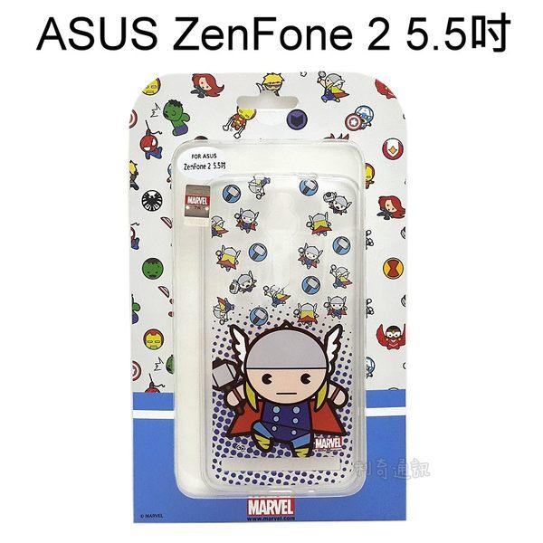 復仇者聯盟Q版透明軟殼 [雷神] ASUS ZenFone 2 ZE550ML ZE551ML Z00AD Z008D【正版授權】
