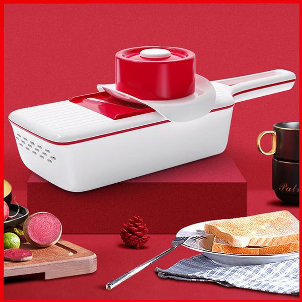 PUSH!廚房用品六款刀片切菜器馬鈴薯絲切絲器廚房刨絲器D228