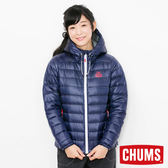 CHUMS 日本 女 600 fill 兜帽羽絨外套 深藍 CH141072N001