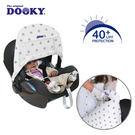 荷蘭DOOKY-抗UV手提汽座可調式遮陽罩-鉛灰星星