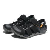 TEVA 涼鞋 FLINTWOOD 黑 抽繩 護趾 快扣 冒險者 男 (布魯克林) TV1118941BLK