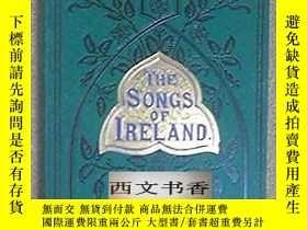 二手書博民逛書店稀缺,1891年出版罕見The Songs Of Ireland