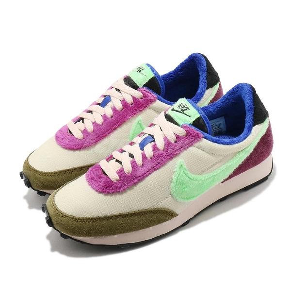 Nike 休閒鞋 DBreak 綠 紫 女鞋 麂皮 毛料 Daybreak 運動鞋 【ACS】 DC3275-235