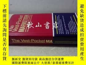 二手書博民逛書店the罕見vest pocket-marketerY179846