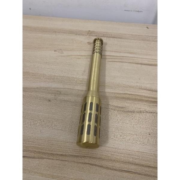 溫灸棒多功能艾灸棒溫灸銅艾灸棒手握艾棒家用艾炙器(29公分/777-9292)
