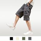 【男人幫大尺碼】K1619-工作短褲 工作褲 工裝褲-灰色