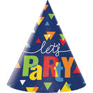 7吋派對帽8入-歡樂時光