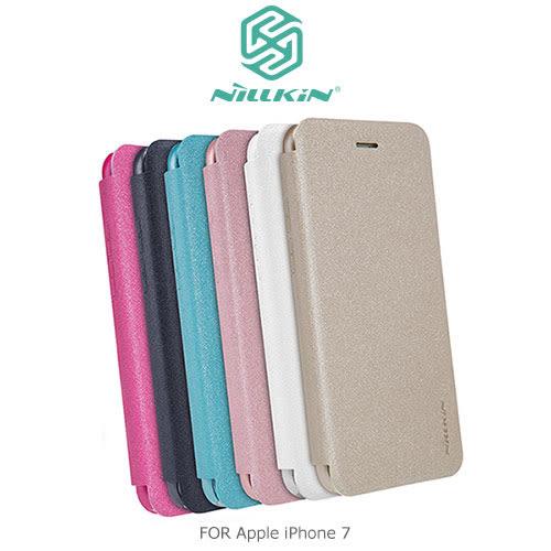 摩比小兔~ NILLKIN Apple iPhone 7  星音勻皮套 側翻皮套 保護套