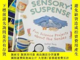 二手書博民逛書店Cool罕見Sensory Suspense: Fun Scie