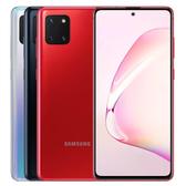 三星 SAMSUNG Galaxy Note 10 Lite (N770) 手機~滿版玻璃貼+保護殼+128G記憶卡