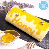 糖果貓烘焙.濃情蜜意蜂蜜蛋糕捲(420g/條)﹍愛食網