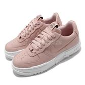 Nike 休閒鞋 Wmns AF1 Pixel 粉紅 白 女鞋 皮革 穿搭 運動鞋 【ACS】 CK6649-200