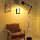 落地燈簡約創意美式遙控落地燈客廳臥室床頭書房學習立式台燈麻將釣魚燈wy