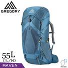 【GREGORY 美國 女 55L MAVEN登山背包S/M《光譜藍》】126839/專業健行背包/後背包/旅遊