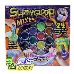 [COSCO代購] W1296713 Slimy Gloop 歡樂組合包黏土24入