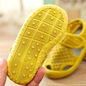 萬聖節狂歡   2018夏季兒童涼鞋透氣軟底寶寶網鞋男童女童小孩鏤空沙灘鞋1-7歲   mandyc衣間