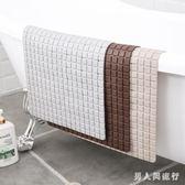 浴室防滑墊 衛生間淋浴家用墊子廁所洗澡pvc防水腳墊洗手間地墊 DR22183【男人與流行】