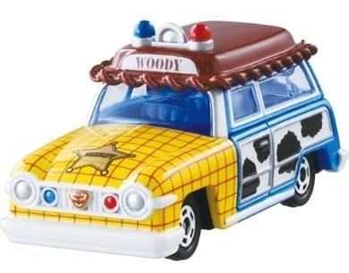 TOMICA DM-19 玩具總動員胡迪旅行車_ DS87283 迪士尼小汽車