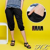 .GAG GLE超大尺碼.【20050044】百搭推薦舒適棉質七分褲 4色